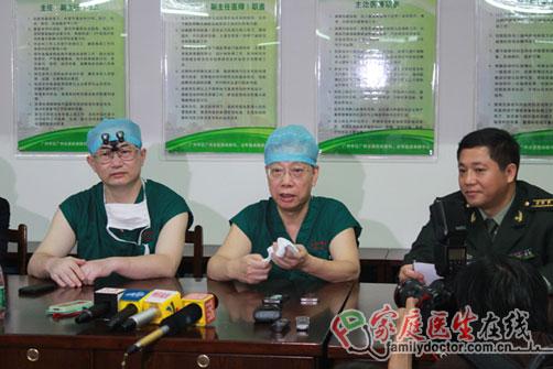 卫生部副部长黄洁夫再做肝移植