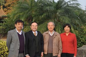 杨建勇、章仕正、许达生教授和高宏主任