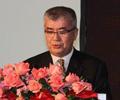 爱芙乐赛控股集团株式会社社长石黑傅六发表演讲