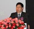 中国医药商业协会名誉会长任德权致开幕辞