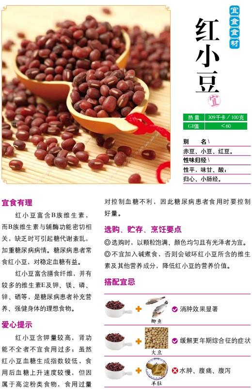 4、宜食食材——红小豆