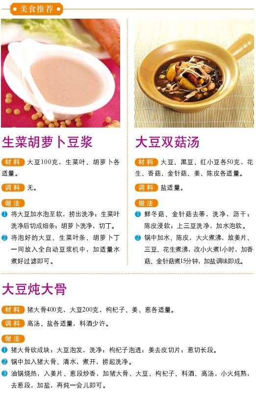 7、宜食食物——大豆