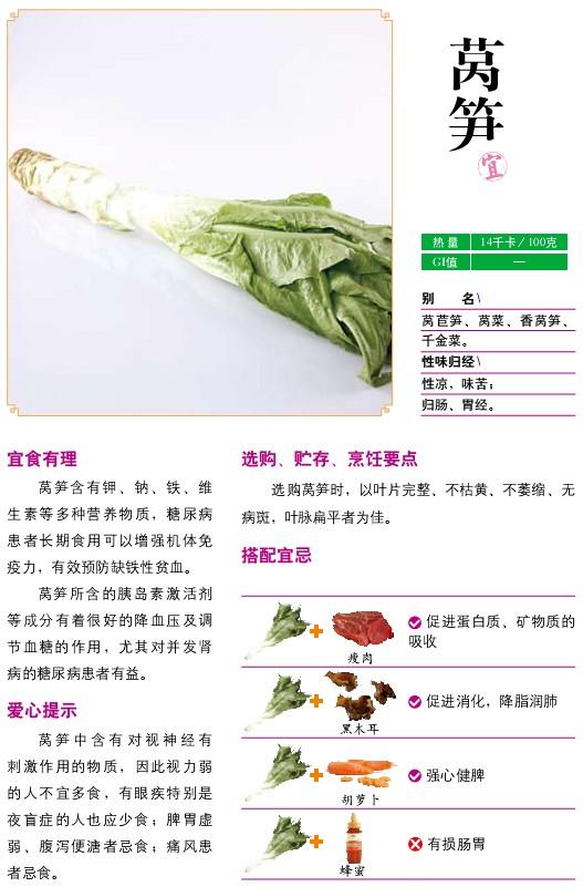 20、宜食蔬菜——莴笋