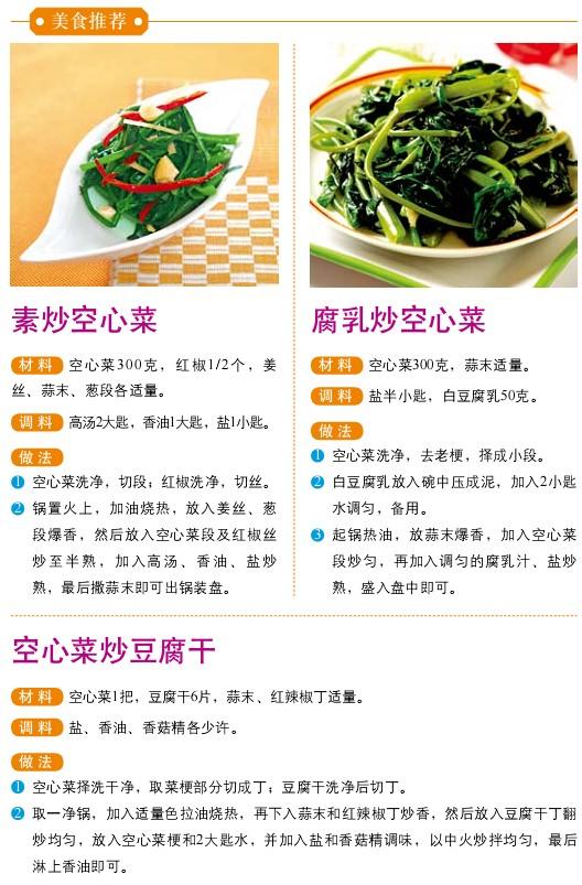 25、宜食蔬菜——空心菜